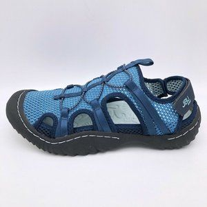 JBU By Jambu Womens Thunder Sport Sandals Blue 6.5